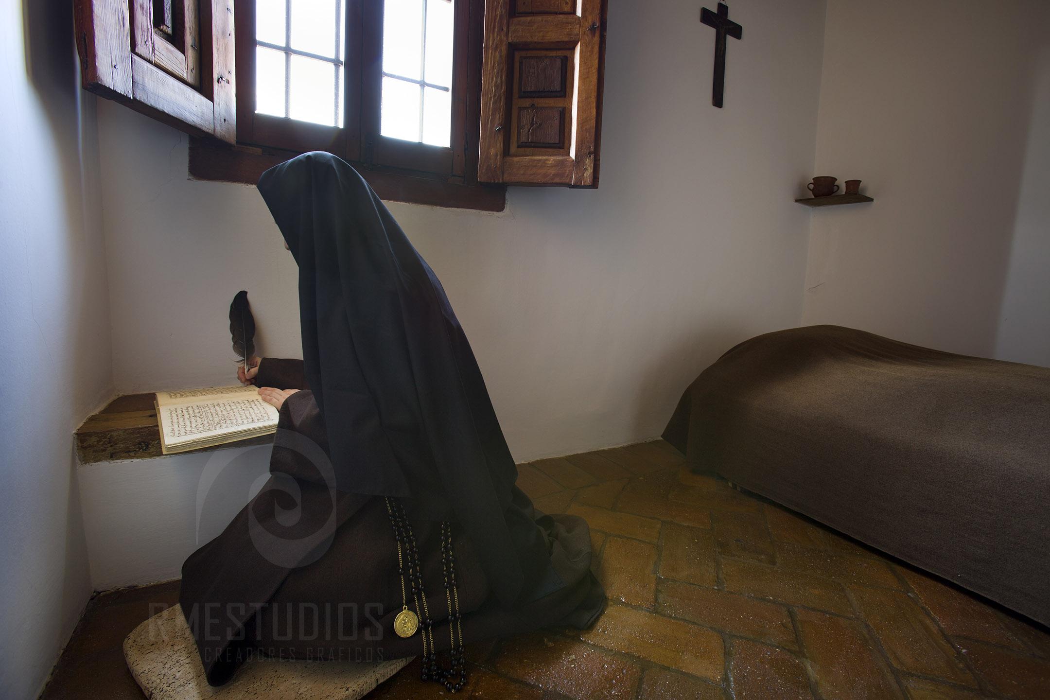 Clausura Celda de Santa Teresa de Jesus en el Convento de San Jose