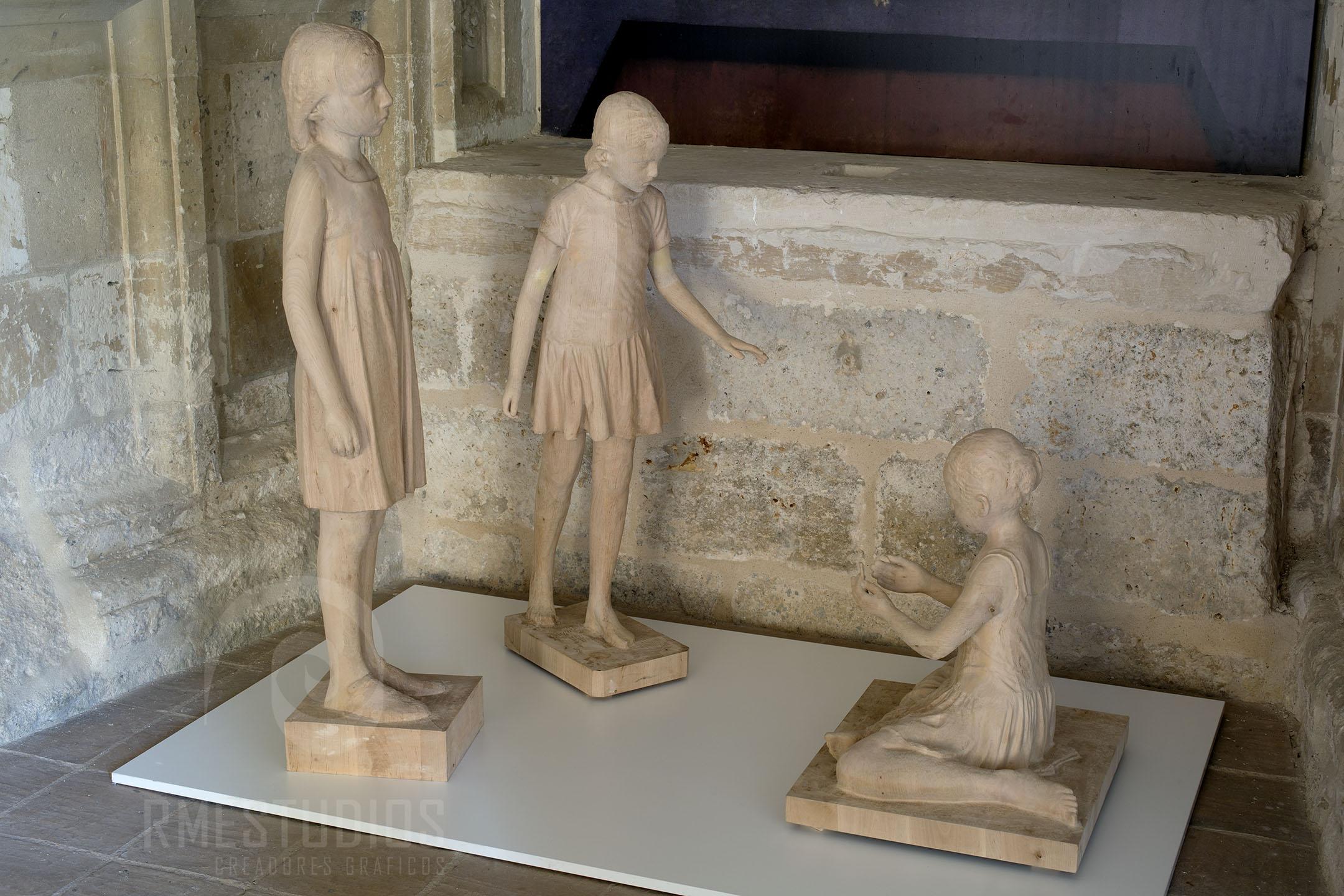 Esculturas de Pedro Quesada para Las Edades del Hombre