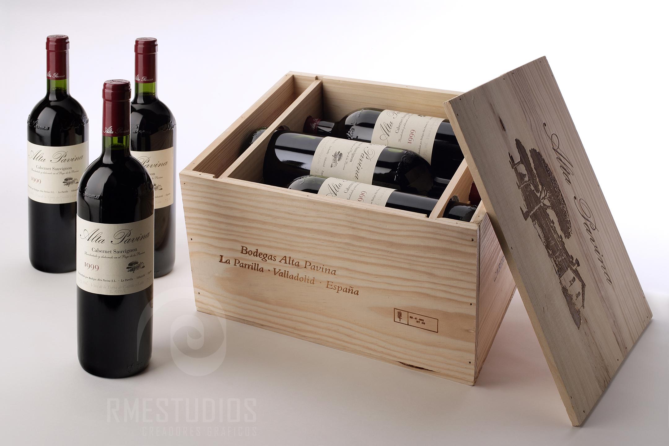 Foto de producto - vino Alta Pavina