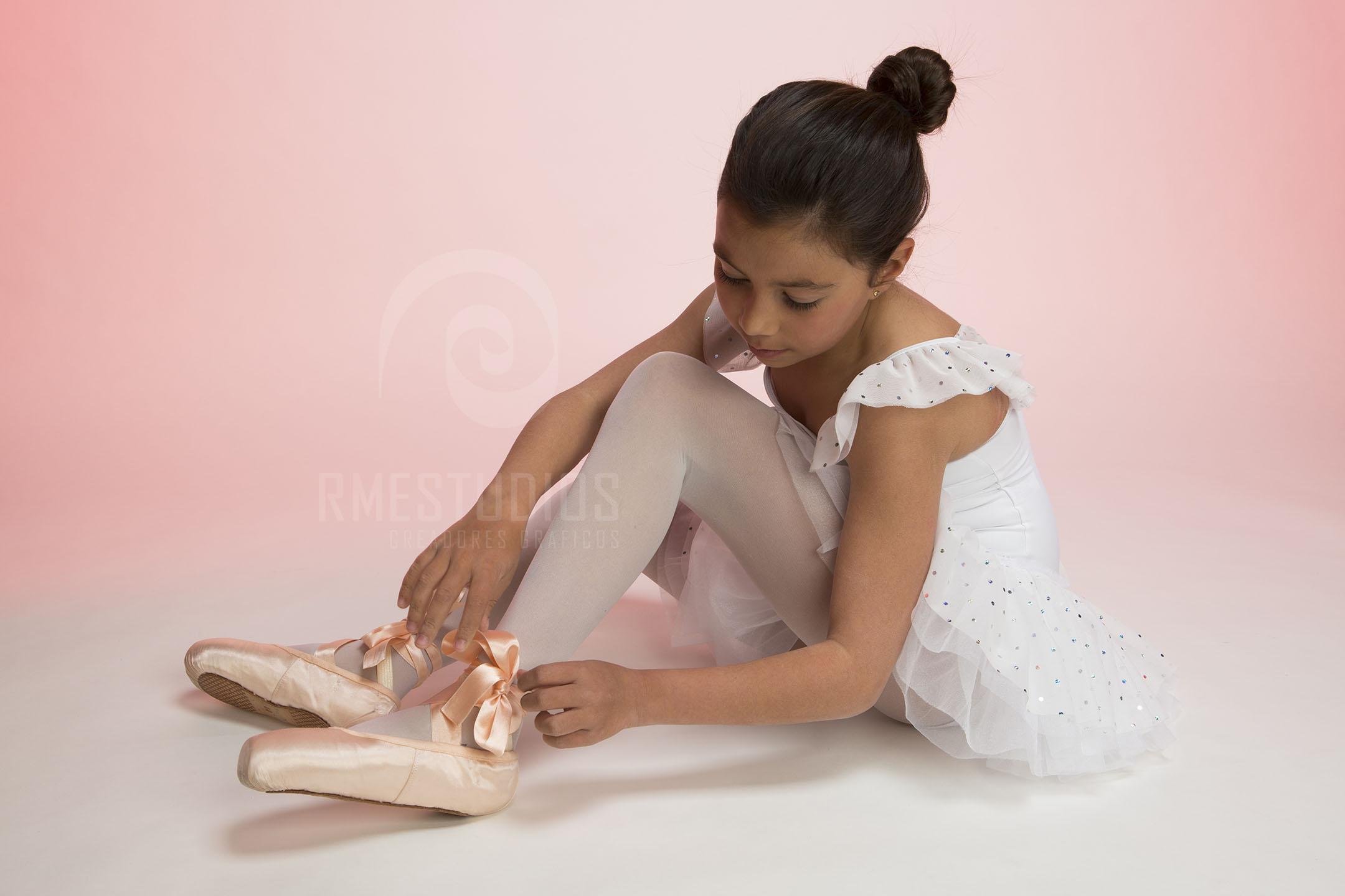 retrato de estudio - bailarina